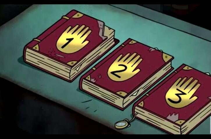 Los 3 diarios de Gravity Falls